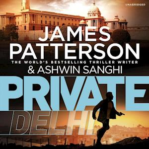 Lydbog, CD Private Delhi af James Patterson