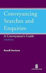 Conveyancing Searches and Enquiries