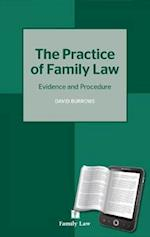 Practice of Family Law af David Burrows