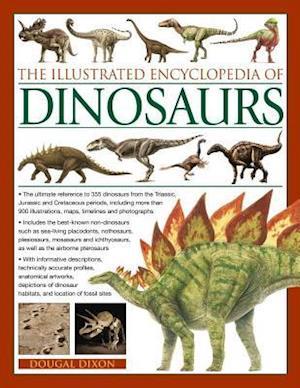 Bog, paperback The Illustrated Encyclopedia of Dinosaurs af Dougal Dixon