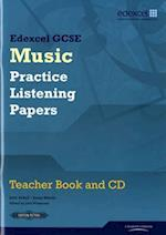 Edexcel GCSE Music Practice Listening Papers Teacher book and CD (Edexcel GCSE Music)