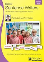 Sentence Writers Teacher Book & CD: Year 5-6 (Badger Sentence Writers)