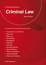 Criminal Law af Peter Robertson