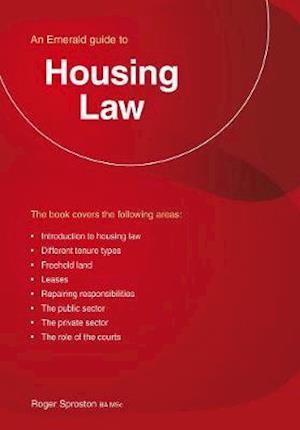 Bog, paperback Housing Law af Roger Sproston