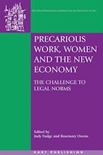 Precarious Work, Women, and the New Economy (Oati International Series in Law and Society)