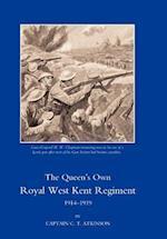 Queen's Own Royal West Kent Regiment, 1914 - 1919