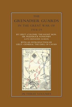 Bog, hæftet THE GRENADIER GUARDS IN THE GREAT WAR 1914-1918 Volume One af Sir Frederick Ponsonby