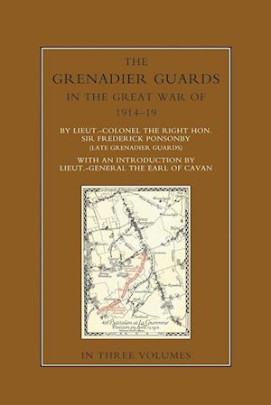 Bog, hæftet THE GRENADIER GUARDS IN THE GREAT WAR 1914-1918 Volume Three af Sir Frederick Ponsonby