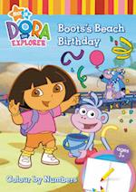 Dora the Explorer Colour by Numbers Book