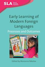 Early Learning of Modern Foreign Languages (Second Language Acquisition, nr. 3)