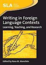 Writing in Foreign Language Contexts (Second Language Acquisition, nr. 4)