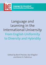 Language and Learning in the International University af Bent Preisler