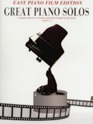 Great Piano Solos Film Easy Piano Edition Book