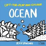 Lift-the-Flap and Colour Ocean (Lift the Flap and Colour)