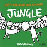 Lift-the-Flap and Colour Jungle (Lift the Flap and Colour)