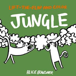 Lift-The-Flap and Color: Jungle