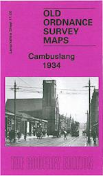 Cambuslang 1934 (Old Ordnance Survey Maps of Lanarkshire)