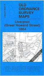 Liverpool (Great Howard Street) 1864 (Old Ordnance Survey Maps of Liverpool)