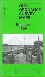 Brighton 1909 (Old Ordnance Survey Maps of Sussex)