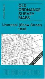 Liverpool (Shaw Street) 1848 (Old Ordnance Survey Maps - Yard to the Mile)