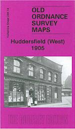 Huddersfield (West) 1905 (Old Ordnance Survey Maps of Yorkshire)