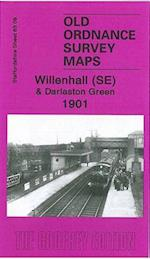 Willenhall (SE) and Darlaston Green 1901 (Old Ordnance Survey Maps of Staffordshire)