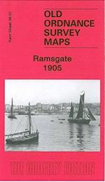 Ramsgate 1905 (Old Ordnance Survey Maps of Kent)