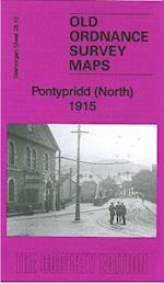 Pontypridd (North) 1915 (Old Ordnance Survey Maps of Glamorgan)