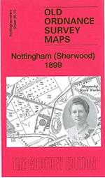 Nottingham (Sherwood) 1899 (Old Ordnance Survey Maps of Nottingham)