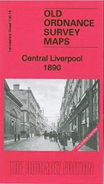 Central Liverpool 1890 (Old Ordnance Survey Maps of Lancashire)