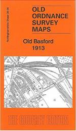 Old Basford 1913 (Old Ordnance Survey Maps of Nottinghamshire)