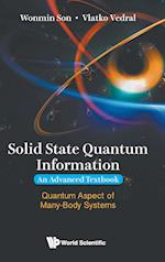 Solid State Quantum Information -- An Advanced Textbook
