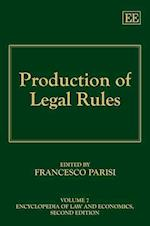 Production of Legal Rules af Francesco Parisi