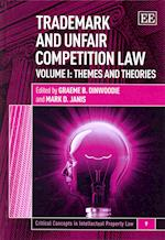 Trademark and Unfair Competition Law (Critical Concepts in Intellectual Property Law Series, nr. 9)