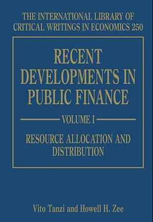 Bog, hardback Recent Developments in Public Finance af Vito Tanzi