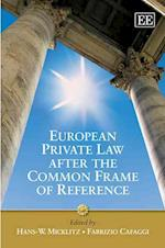 European Private Law After the Common Frame of Reference