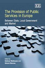 The Provision of Public Services in Europe af Hellmut Wollmann