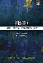 European Intellectual Property Law af Annette Kur