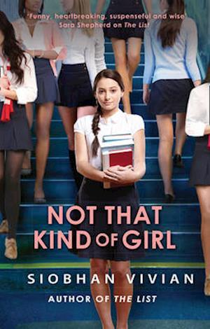 Bog, paperback Not That Kind of Girl af Siobhan Vivian