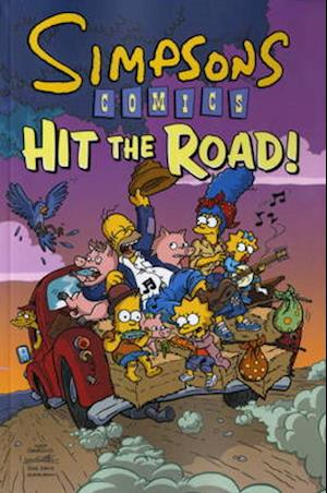 Bog, paperback Simpsons Comics Hit the Road af Matt Groening
