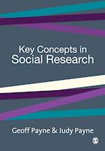 Key Concepts in Social Research af Judy Payne