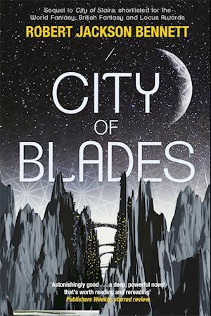 Bog, paperback City of Blades af Robert Jackson Bennett