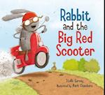 Rabbit and the Big Red Scooter af Mark Chambers