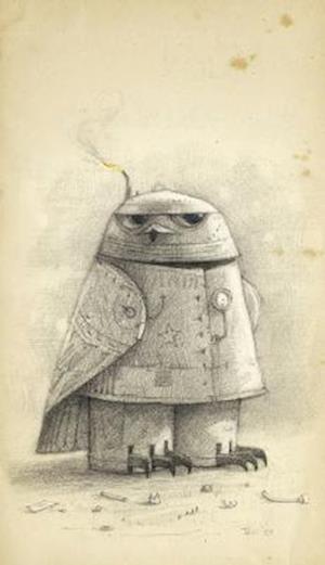 Bog, hardback Shaun Tan Notebook - Snow Owl (Grey) af Shaun Tan