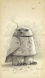 Shaun Tan Notebook - Snow Owl (Grey) (Shaun Tan Notebook, nr. 2)