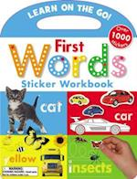 First Words Sticker Workbook (Learn on the Go)