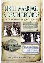 Birth, Marriage and Death Records af David Annal