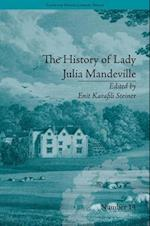 The History of Lady Julia Mandeville af Frances Brooke