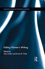 Editing Women's Writing (Chawton Studies in Scholarly Editing)