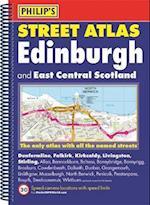 Philip's Street Atlas Edinburgh and East Central Scotland (Philip's Street Atlases)
